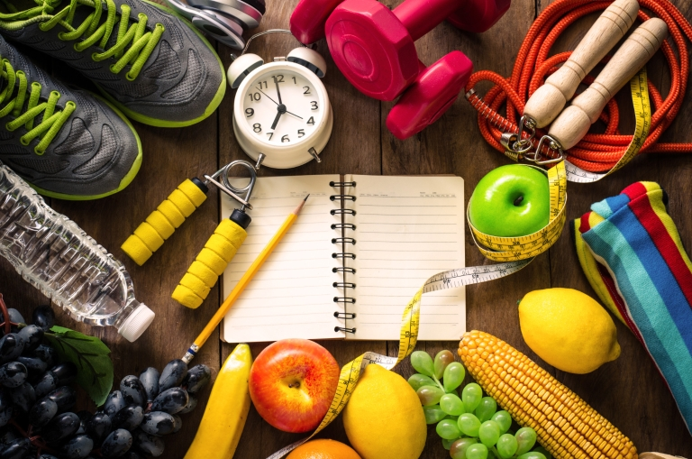 A Guide to having a healthy Exercise and Diet Plan