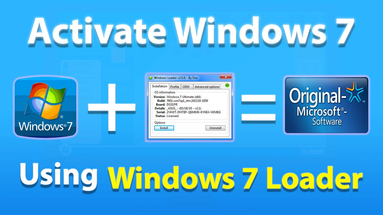 How to Activate Windows 7?