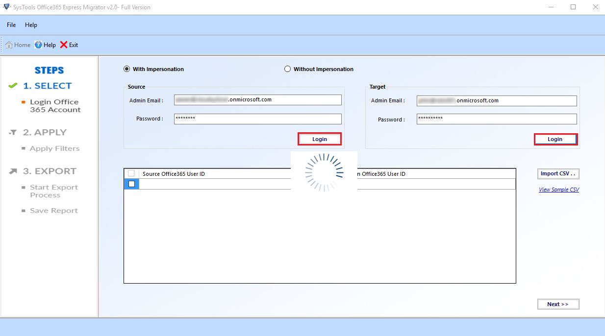 How to Perform Data Migration from Office 365 to Office 365 Account/Domain?