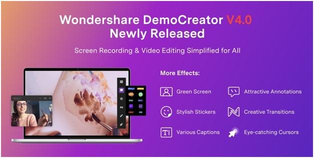 Wondershare DemoCreator can make you look like a professional video editor